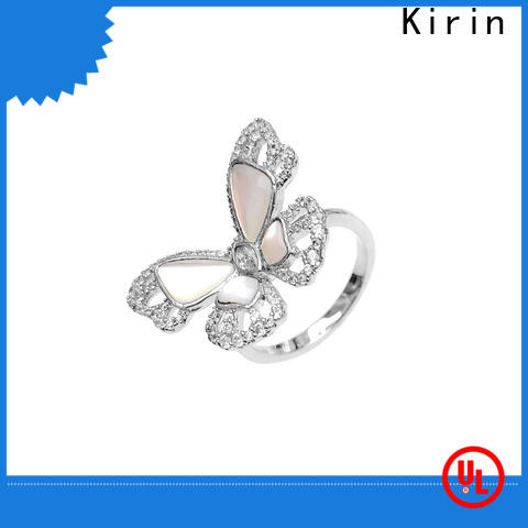 charming sterling silver solid rings fast bulk production for lover