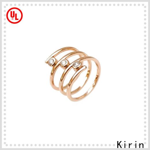 Kirin elegant opal rings factory price for mom